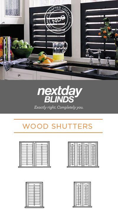 Best 25+ Interior wood shutters ideas on Pinterest   Indoor window ...