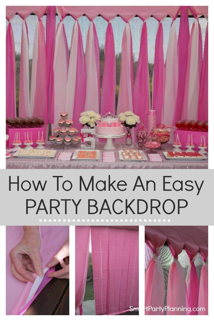 Easy birthday supplies to make