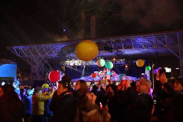 The closing ceremony at Open Air Theatre, Expo Milan 2015 #raiexpo #expo2015 #live #ceremony #milan #italy