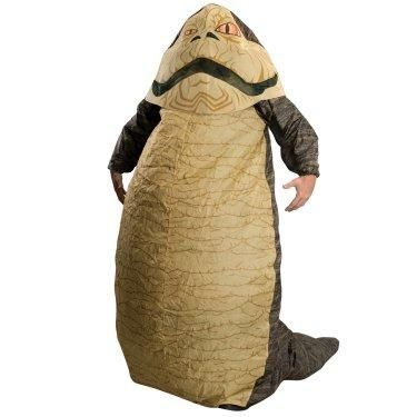 Command attention in this Jabba The Hutt Inflatable Adult Costume. This larger than life outfit will allow you to control the underground crime world while embodying this iconic Star Wars crime lord.