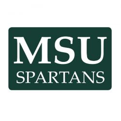 Michigan State University Spartans Custom Return Address Labels - Free Shipping. Your University Return Address label on your College Announcements will emphasize your team spirit.