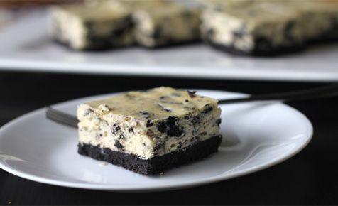 Oreo cheesecake slice - a little piece of heaven!