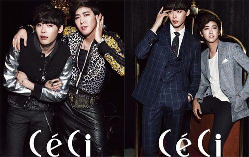 ZE:A's Kwang and Lee Jong Suk