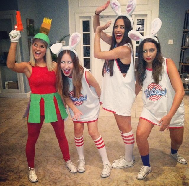 i am in zta at uf and we have about 3 socials a month which gives me the perfect opportunity to dress up and get creative - 3 Girl Costumes Halloween