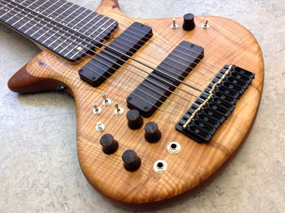 Warr Guitar - Touchstyle 12 String Artist - Piezo & MIDI - Chapman Stick Tuning - Professional Musical Instrument
