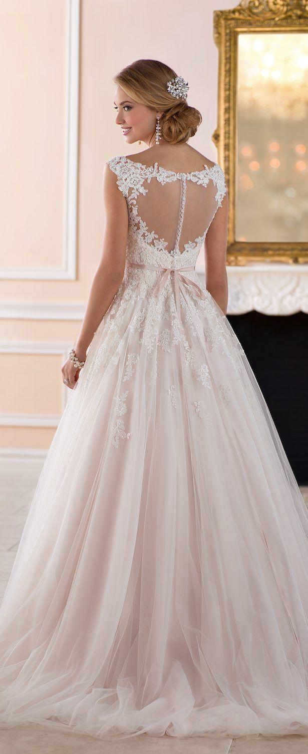 Wedding Dress by Stella York Spring 2017 Bridal Collection #weddingdresses