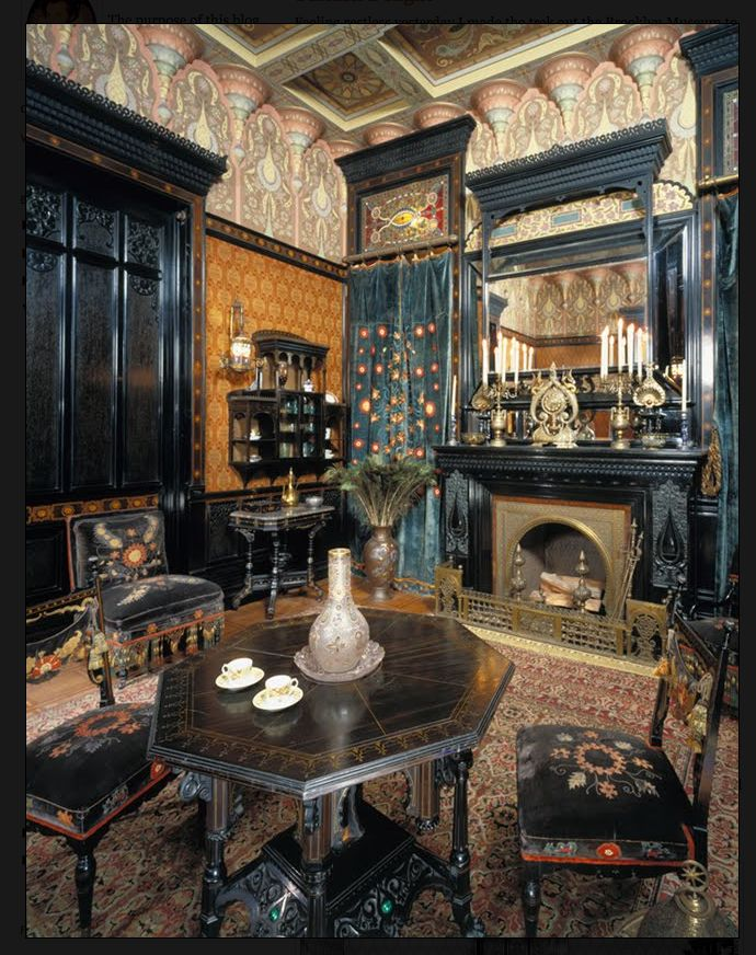 Moorish Smoking Room From The John D Rockefeller House Formerly At 4 West 54th