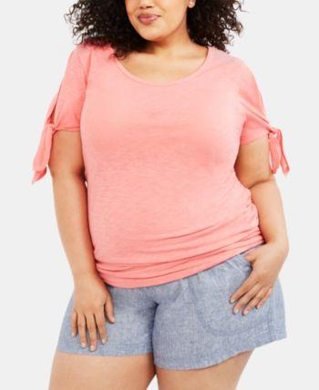 Motherhood Maternity Plus Size Shorts – Black 1X