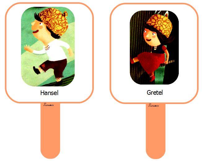 Le conte : Hansel et Gretel plaquettes, séquentielles ...