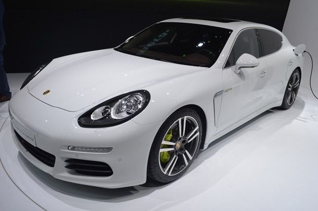 2014 Porsche Panamera S E-Hybrid is one mean green machine. 2nd fav after Tesla Model S... :-)