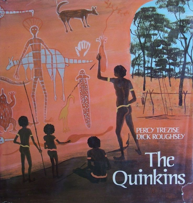 'The Quinkins'  is written by Percy Trezise and Dick Roughsey. It begins with the introduction of 2 different groups, the Imjims and the Timaras. Imjims stole children and took them to their cave. Timaras were the other Quinkins, they were whimsical spirits but didn't like the Imjims because they always stole children. One afternoon their parents went out hunting, Moonbi and Leealin thought they heard their father calling them, so they ran to meet them. It was not their father but an…