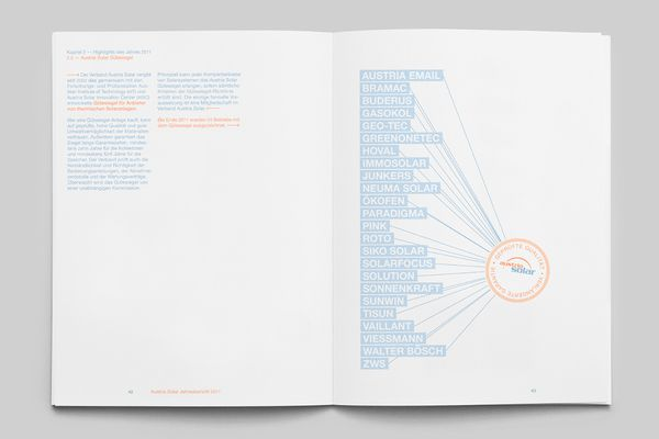 The Solar Annual Report | MagSpreads | Magazine Layout Inspiration and Editorial Design