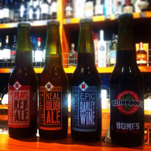 la revolución cervecera @rothhammer en @drinkhouse.cl