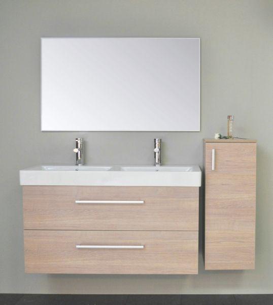 Nu online op www.sanicare.nl !    Het nieuwe badmeubel Palermo 120 cm.    Dit nieuwe meubel introduceren wij met name om twee belangrijke redenen !    Om de toenemende vraag naar meubels zonder blende te beantwoorden en dit meubel is ook leverbaar in de nieuwe kleur grijs-eiken !