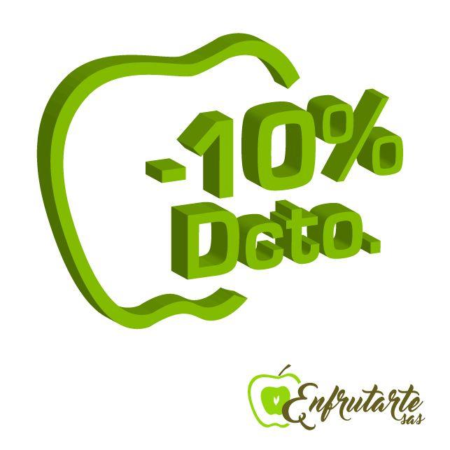 10% en todos Nuestros Adornos :)  ¡Visita nuestra Web! #colombia #frutas #ramos #descuento #promo