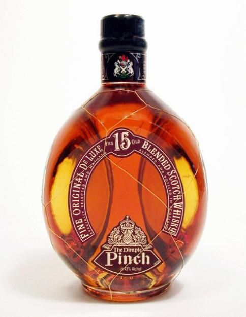 Dimple is a Blended Scotch Whisky malt which have been aged for at least 15 years.