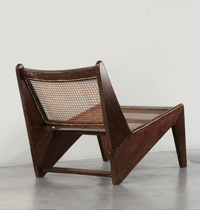 Pierre Jeanneret Kangourou Chair, ca. 1960 Galerie Patrick Seguin