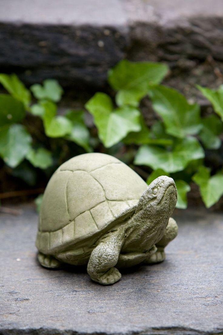 Warning turtles amp tortoises inc - Campania Box Turtle Cast Stone Animal Statue Garden Art