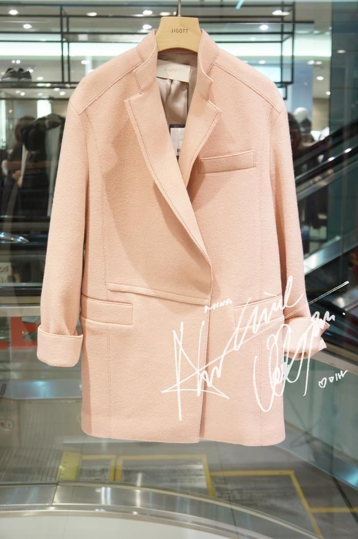 JIGOTT韩国专柜正品代购2015年冬个性外套JJFJ-00-0613-淘宝网