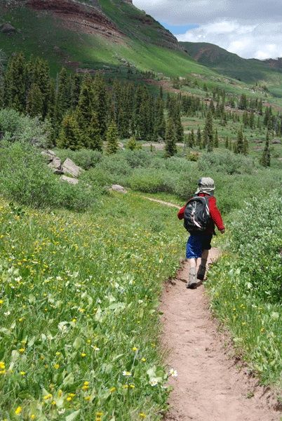 Ten Tips for Hiking with Children by Helen Olsson, author of The Down and Dirty Guide to Camping with Kids