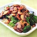 Stir-Fried Vegetables with Toasted Cashews - Broccoli Mushrooms Cabbage Recipes - Delish.com