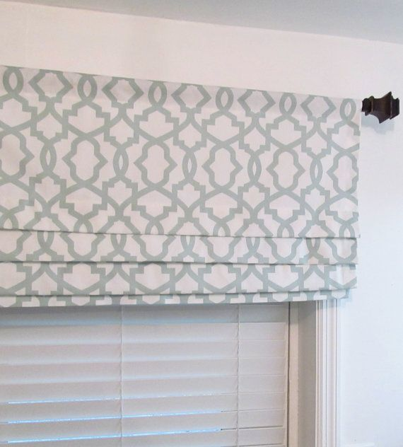 Custom Made Mock Roman Valance Lined Faux By Supplierofdreams