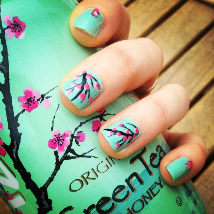 Arizona inspired nails