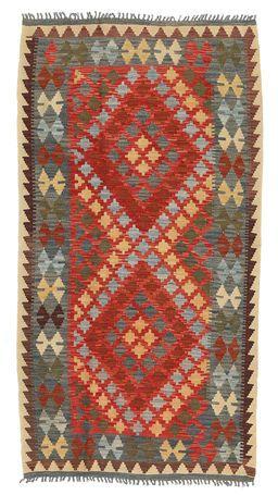Kelim Afghan Old style-matto 106x198