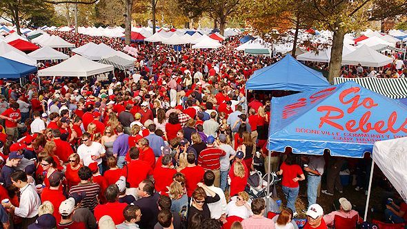 I don't like to brag, but Oxford, MS was the most amazing place to grow up. I love the Grove and tailgating for Ole Miss football games!