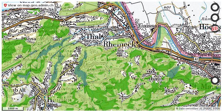 Lutzenberg AR Wald Nationalpark Urlaub http://ift.tt/2AwdjTw #maps #schweiz