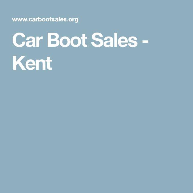 Car Boot Sales - Kent