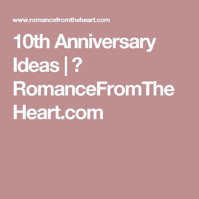 10th Wedding Anniversary Ideas: Best 25+ 10th Anniversary Gifts Ideas On Pinterest