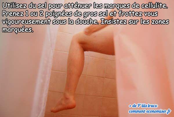 Voici une astuce naturelle pour atténuer les traces de cellulite sur votre corps.  Découvrez l'astuce ici : http://www.comment-economiser.fr/astuce-pour-attenuer-les-marques-de-cellulite.html?utm_content=buffer1badc&utm_medium=social&utm_source=pinterest.com&utm_campaign=buffer