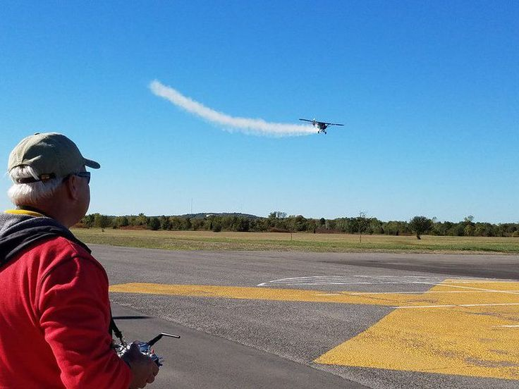 Model airplane group takes to the skies