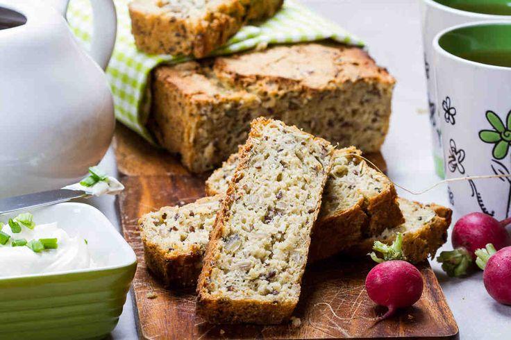 Chleb bezglutenowy wieloziarnisty  #smacznastrona #przepisytesco #chlebdomowy #bezgluteny #wieloziarnisty