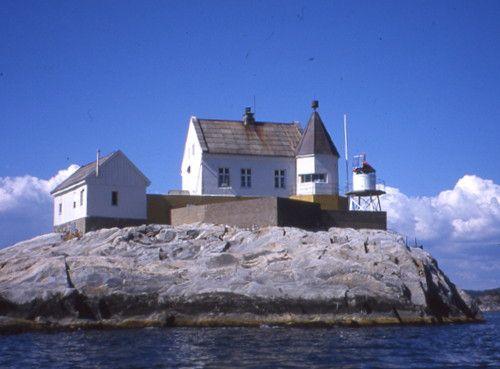 Saltholmen Light, Lillesand, Norway