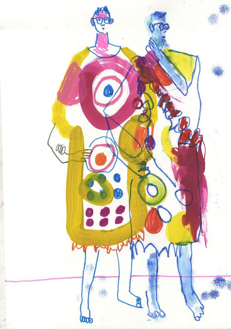 THE CREATIVE OUTLOOK | Surface Pattern by Amy Hodkin: Inspiration: Mogu Takahashi, Sören Beineke and John Booth