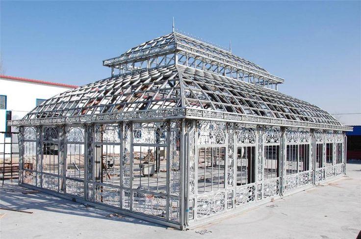 MONUMENTAL VICTORIAN STYLE GREENHOUSE - GAZEBO - SOLARIUM - CONSERVATORY  - SD1 #Unbranded