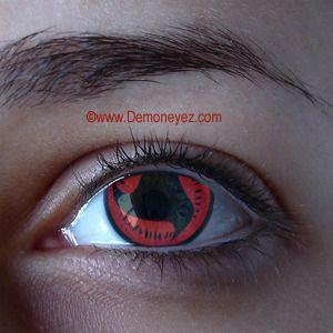 Mangekyou Halloween Contact Lenses - Sharingan Eye Lens Store