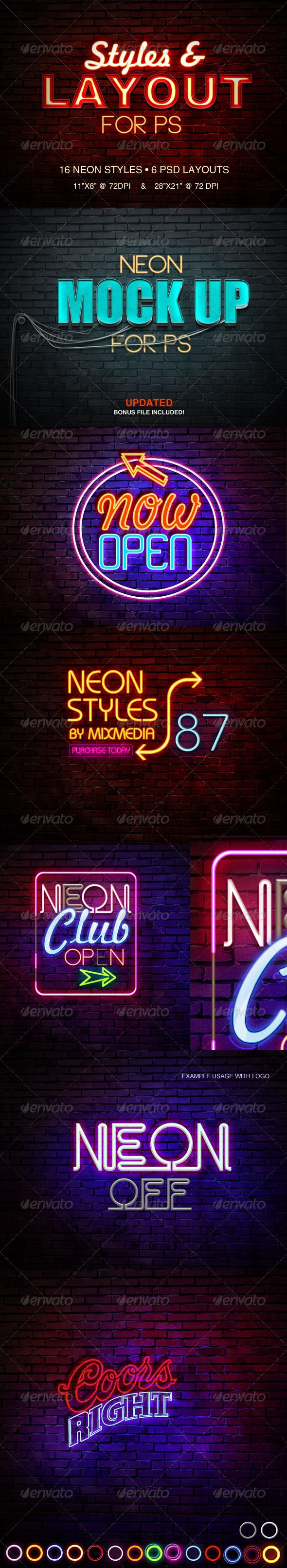 Neon Sign Styles
