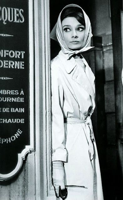 Audrey Hepburn in Charade...I could watch them movie over and over and over!