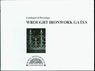 Catalogue of Drawings Wrought Ironwork Gates  More 600 Blacsmith's Books www.artsklad.net/store.html
