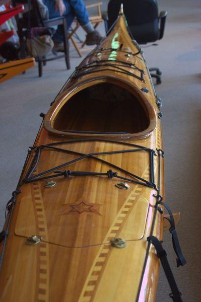 Building cedar strip kayaks
