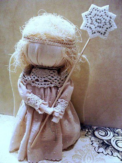 """Народные куклы ручной работы. Ярмарка Мастеров - ручная работа """"Рождественский ангел"""". Handmade."""