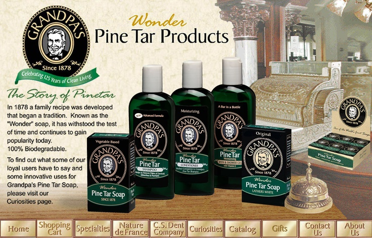 This pine tar soap is great for those suffering from psoriasis 1