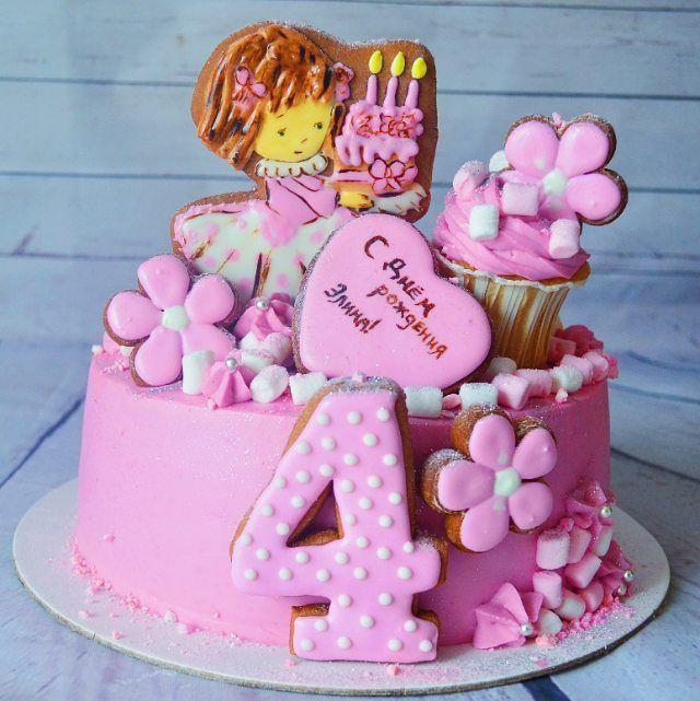 80 отметок «Нравится», 2 комментариев — ВКУСНЫЕ ТОРТЫ  ВЛАДИКАВКАЗ (@happy_cake_vladikavkaz) в Instagram: «Маленькая красотка для маленькой красотки  #это_мой_торт10 от @anuta_maletina  Спонсор…»