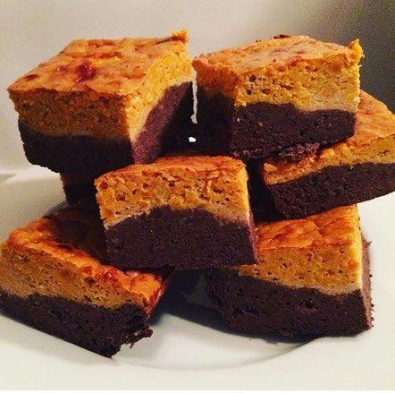 Chocolade-pindakaas brownies - De website van zonderfratsen!