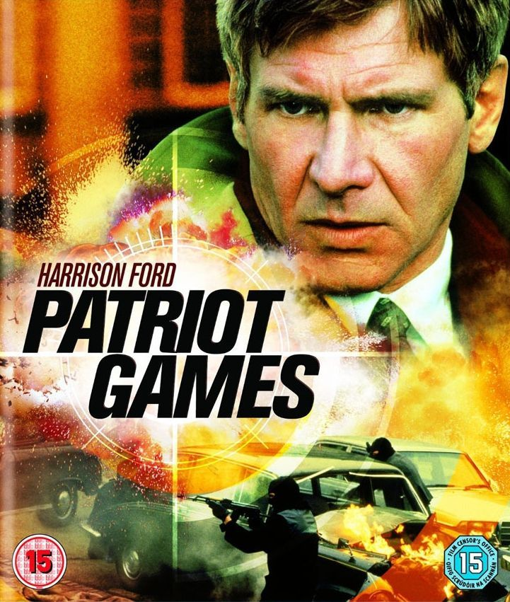 """MOVIE - Patriot Games """"1992"""" (Genre: Action) Starring: Harrison Ford as Jack Ryan, Anne Archer as Cathy Ryan, Sally Ryan as Thora Birch & Sean Bean as Sean Miller. Plot: When CIA Analyst Jack Ryan interfaces with an IRA assassination, a renegade faction targets him & family for revenge."""