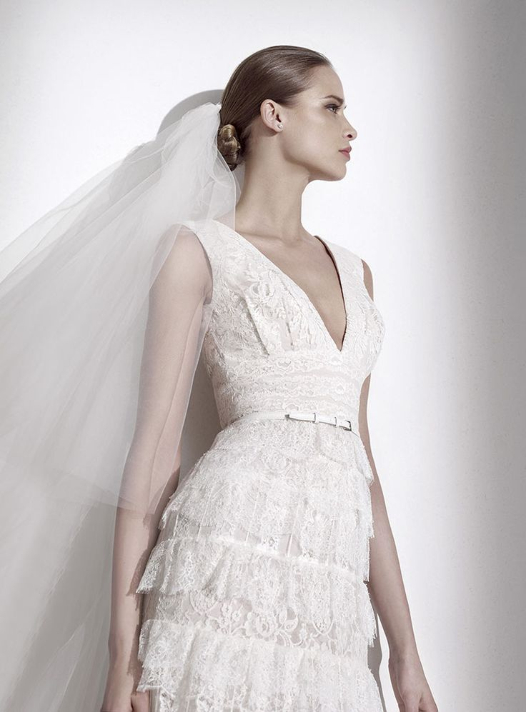 12 best Brautmode 2015 images on Pinterest | Short wedding gowns ...