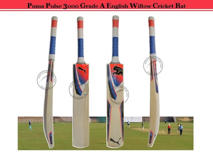 Puma Cricket Bat Pulse 3000 A Grade English Willow Size SH ...